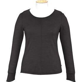 Alchemy Equipment Merino Essential Maglia a maniche lunghe Donna, black